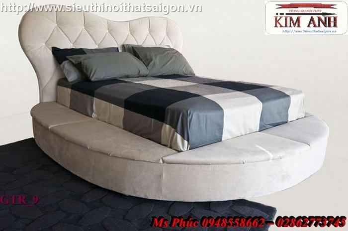 Giường tròn hiện đại, sang trọng cho phòng ngủ tại Bình Dương4