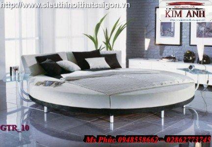 Giường tròn hiện đại, sang trọng cho phòng ngủ tại Bình Dương3