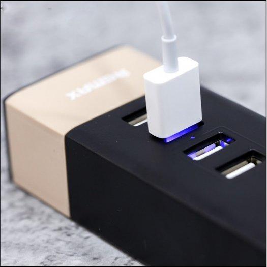 Ổ Cắm Điện Remax RU-S2 Kiêm 4 cổng USB sạc điện thoại các loại6