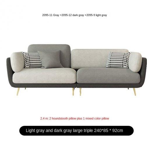 Ghế sofa vải cao cấp hiện đại cho phòng khách1