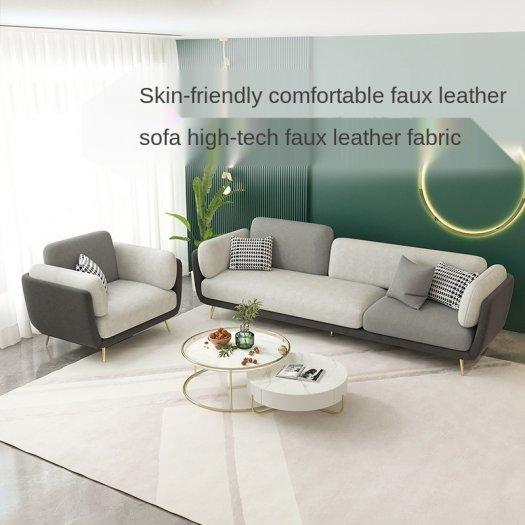 Ghế sofa vải cao cấp hiện đại cho phòng khách0