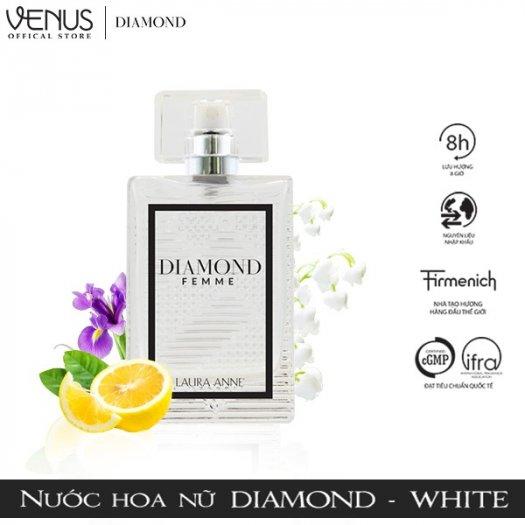 Nước hoa nữ Laura Anne Diamond Femme - White 45ml2