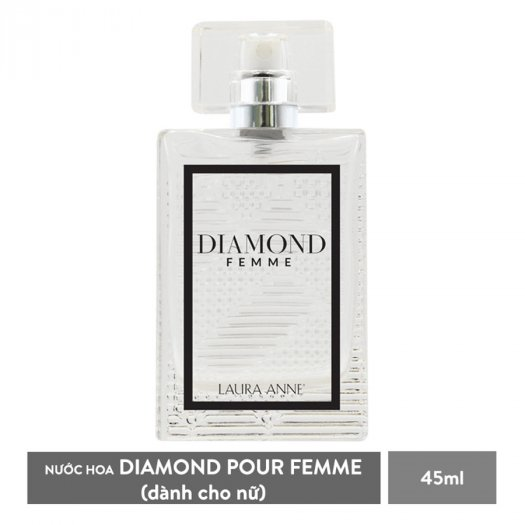 Nước hoa nữ Laura Anne Diamond Femme - White 45ml0