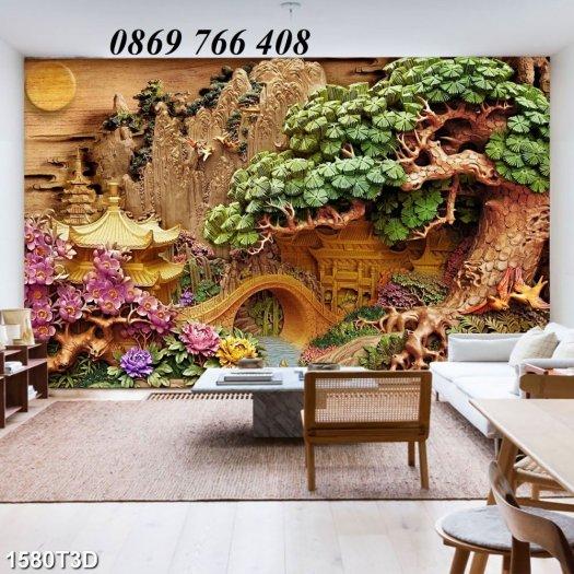 Tranh dán tường-tranh phòng khách8