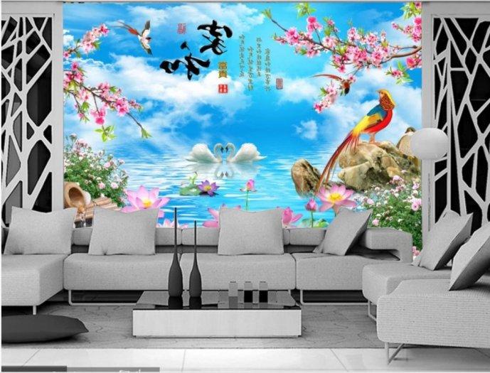 Tranh dán tường-tranh phòng khách2