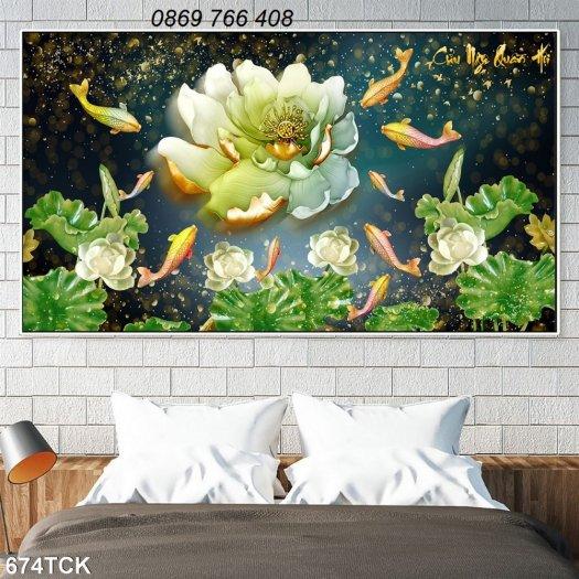 Tranh dán tường-tranh phòng khách0