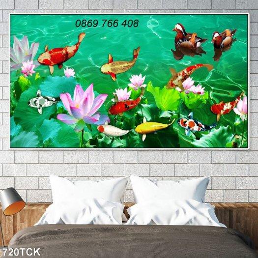 Tranh dán tường-gạch tranh 3D8