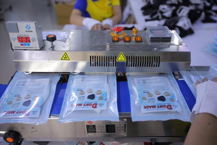 Xưởng sản xuất khẩu trang kháng khuẩn DONY MASK 0988 325 76727
