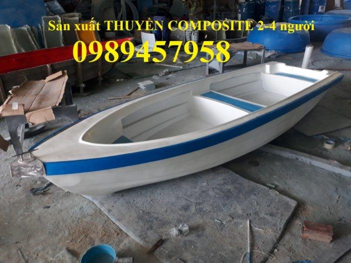 Thuyền composite khu du lịch nghỉ dưỡng, Thuyền nhựa chèo tay 3-4 người0