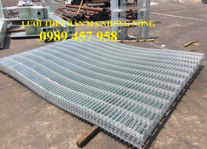 Lưới thép hàn tấm phi 4, Lưới thép công trình phi 5 a 50x150, Lưới làm vách ngăn7