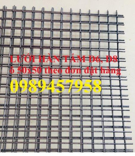 Lưới thép hàn tấm phi 4, Lưới thép công trình phi 5 a 50x150, Lưới làm vách ngăn6