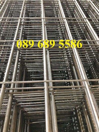 Lưới thép hàn tấm phi 4, Lưới thép công trình phi 5 a 50x150, Lưới làm vách ngăn5