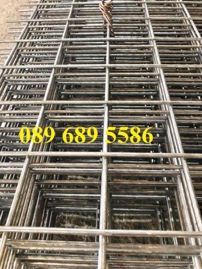 Lưới thép hàn tấm phi 4, Lưới thép công trình phi 5 a 50x150, Lưới làm vách ngăn4