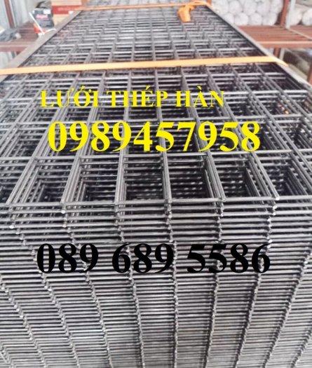 Lưới thép hàn tấm phi 4, Lưới thép công trình phi 5 a 50x150, Lưới làm vách ngăn3
