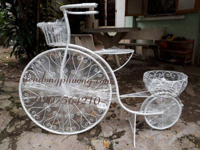 Xe đạp trang trí sân vườn0