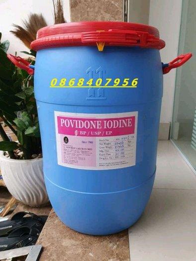 Hoá chất diệt khuẩn PVP Iodine Amphray Ấn Độ dùng trong nuôi trồng thủy sản2