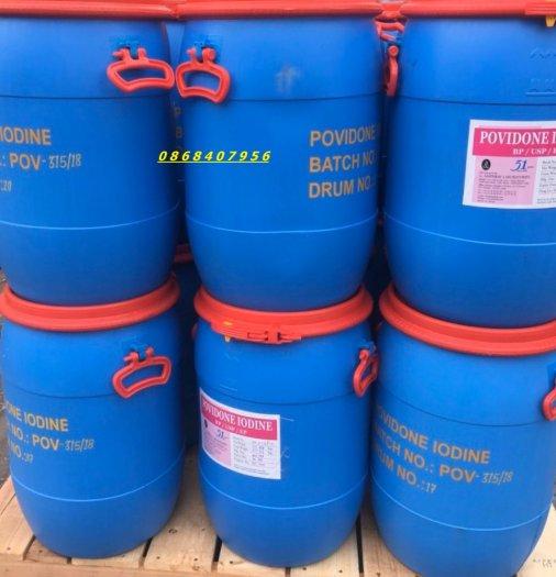 Hoá chất diệt khuẩn PVP Iodine Amphray Ấn Độ dùng trong nuôi trồng thủy sản1