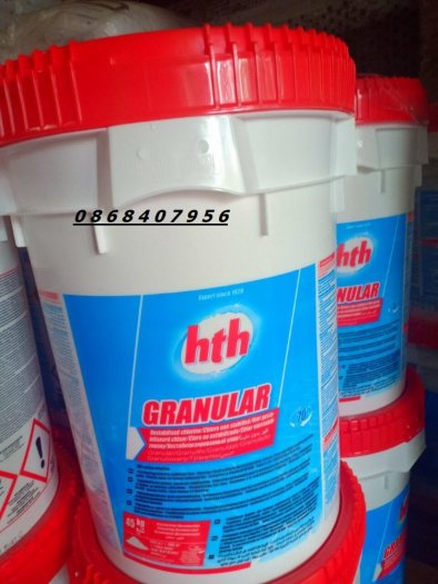 Hóa chất diệt khuẩn xử lý nước Chlorine Mỹ dùng trong nuôi trồng thúy sản0