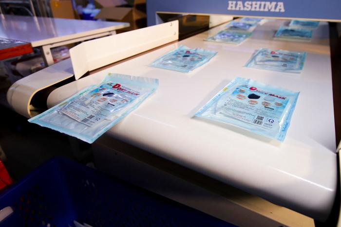 Công ty sản xuất khẩu trang vải kháng khuẩn - may in thêu logo thương hiệu - Dony Mask  - 098832576711