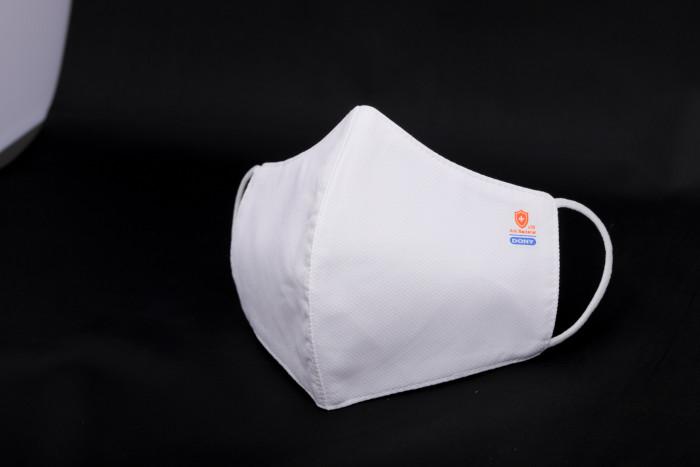 Công ty sản xuất khẩu trang vải kháng khuẩn - may in thêu logo thương hiệu - Dony Mask  - 098832576715