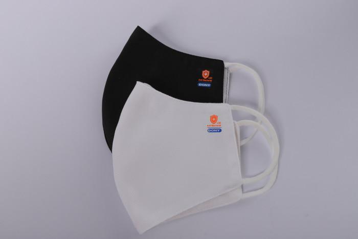 Công ty sản xuất khẩu trang vải kháng khuẩn - may in thêu logo thương hiệu - Dony Mask  - 098832576721
