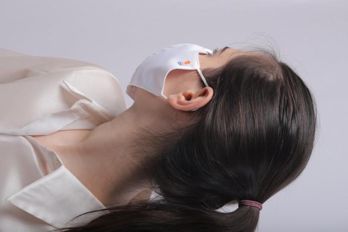 Công ty sản xuất khẩu trang vải kháng khuẩn - may in thêu logo thương hiệu - Dony Mask  - 098832576726