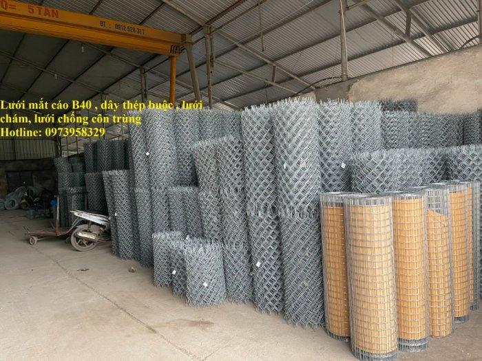 Sản xuất lưới thép hàn mạ Phi 2 ( 25*25),(50*50), Phi 2.5 ( 35*35), (50*50), Phi 3 (35*35),(50*50), Phi 4( 50*50)30