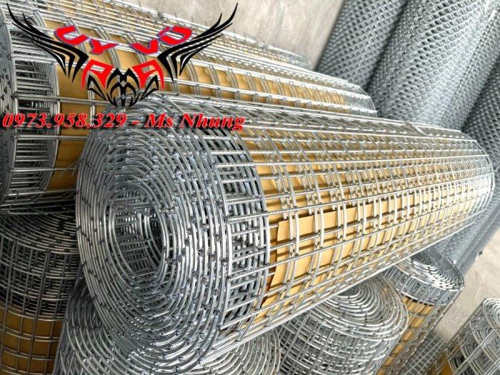 Sản xuất lưới thép hàn mạ Phi 2 ( 25*25),(50*50), Phi 2.5 ( 35*35), (50*50), Phi 3 (35*35),(50*50), Phi 4( 50*50)25