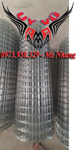 Sản xuất lưới thép hàn mạ Phi 2 ( 25*25),(50*50), Phi 2.5 ( 35*35), (50*50), Phi 3 (35*35),(50*50), Phi 4( 50*50)16