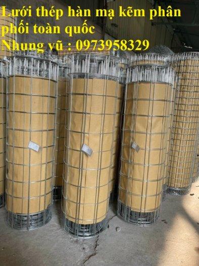 Sản xuất lưới thép hàn mạ Phi 2 ( 25*25),(50*50), Phi 2.5 ( 35*35), (50*50), Phi 3 (35*35),(50*50), Phi 4( 50*50)5
