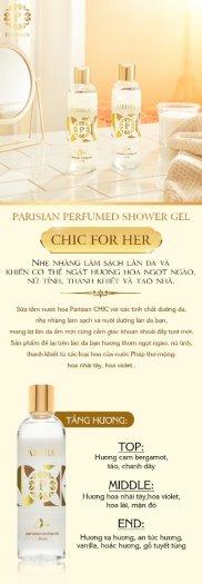 Sữa Tắm Nước Hoa Parisian Chic for Her 265ml0