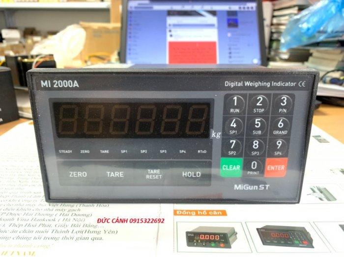 MI2000A Đầu cân điện tử Migunst - Hàn Quốc. Phân phối độc quyền tại Việt Nam2