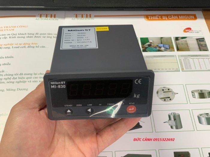 MI830 Đầu cân điện tử chuyên dùng cho cân đóng bao, cân trạm trộn, thu thập tín hiệu...2