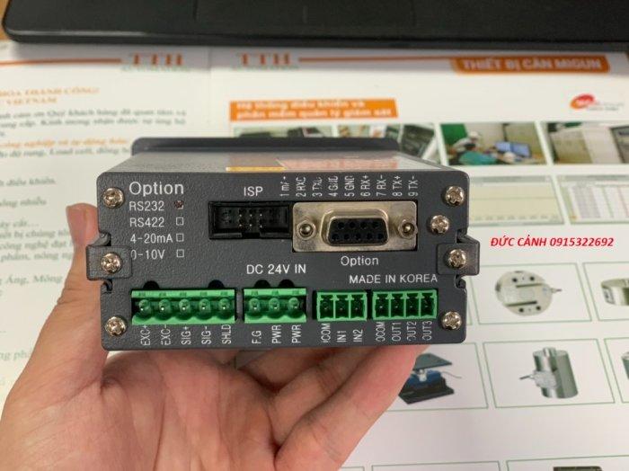 MI830 Đầu cân điện tử chuyên dùng cho cân đóng bao, cân trạm trộn, thu thập tín hiệu...0
