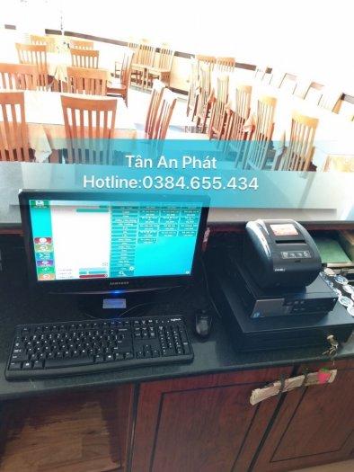 Trọn bộ máy tính tiền giá rẻ cho nhà hàng ăn tại bắc giang0
