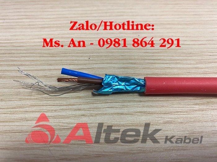 Cáp chống cháy chống nhiễu FR 2 X 1.0/1.5/2.5mm22