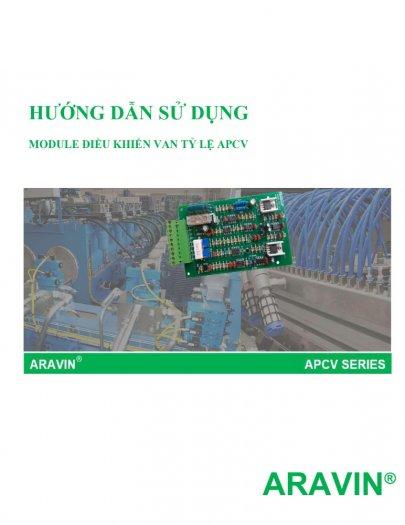 APCV-V1.3-AP - Board mạch điều khiển van tỉ lệ với đầy đủ các tín hiệu điều khiển... do ARAVIN sản xuất8