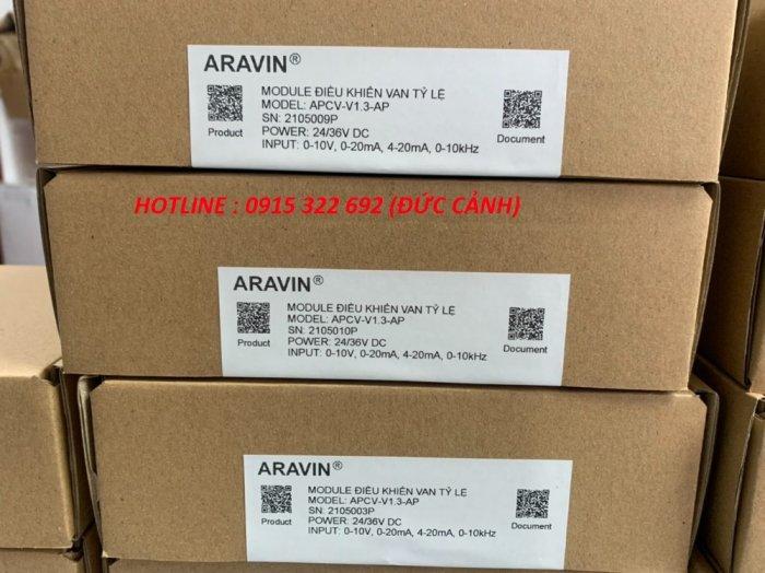 APCV-V1.3-AP - Board mạch điều khiển van tỉ lệ với đầy đủ các tín hiệu điều khiển... do ARAVIN sản xuất1