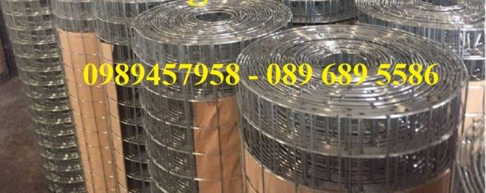 Lưới thép chống nứt sàn, Lưới thép chống thấm phi 4, phi 6 a 200x20011