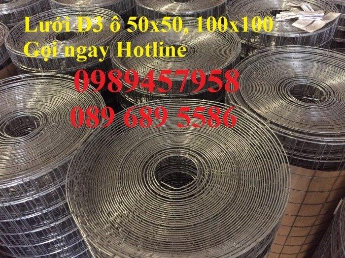 Lưới thép chống nứt sàn, Lưới thép chống thấm phi 4, phi 6 a 200x20010