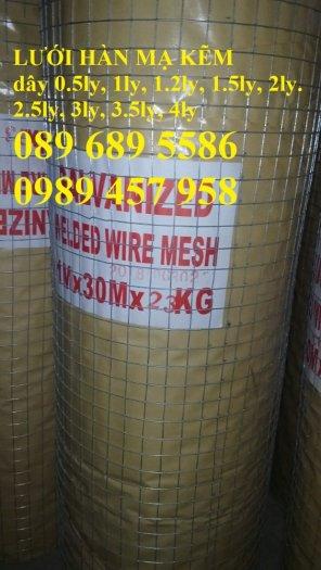 Lưới thép chống nứt sàn, Lưới thép chống thấm phi 4, phi 6 a 200x2000