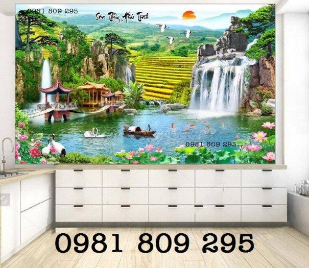 Tranh 3d phong cảnh - gạch tranh 3d3