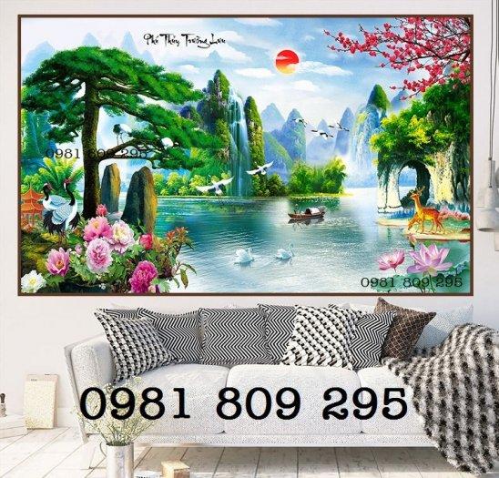 Tranh 3d phong cảnh - gạch tranh 3d2