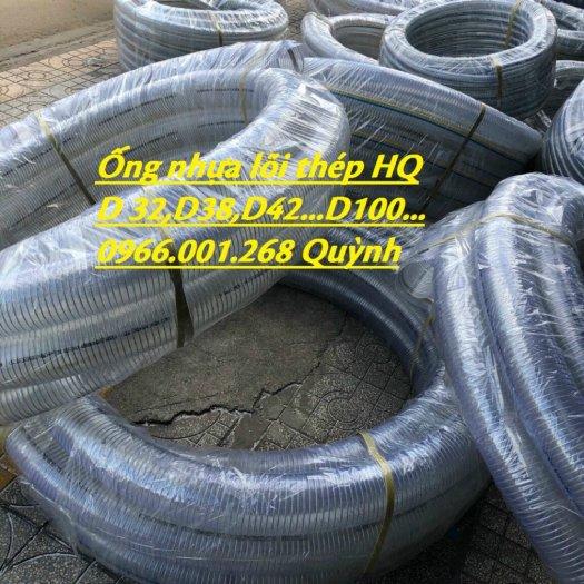 Kho phân phối ống nhựa lõi thép, ống nhựa xoắn kẽm phi 50 cuộn dài 50 mét độ dày 3mm,4mm5
