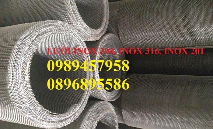 Lưới chống muỗi 20 ô/ink, 30 mesh, 40 ô/ink, Lưới chắn ruồi, Lưới chống côn trùng inox3163