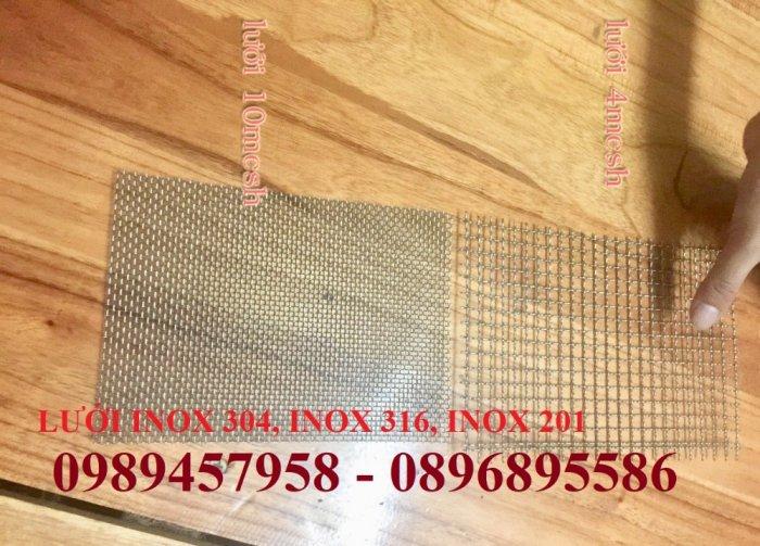 Lưới chống muỗi 20 ô/ink, 30 mesh, 40 ô/ink, Lưới chắn ruồi, Lưới chống côn trùng inox3160