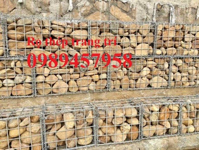 Lưới thép hàn làm rọ đá, Rọ đá trang trí, Lưới thép Rọ đá7