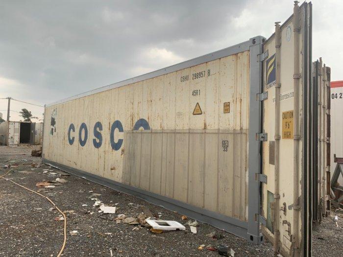 Container lạnh 40feet COSCO Gấu Trúc0