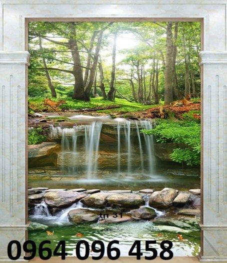 Tranh gạch men 3d phong cảnh - 40MN6