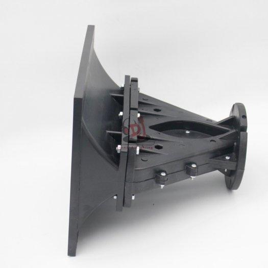 Họng loa array, phểu loa 01 cái họng loa nhựa 23X23, phểu loa trep2